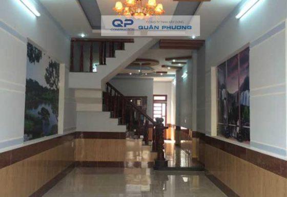 Công trình Xây nhà của anh Phước đường Nguyễn Oanh, quận Gò Vấp .
