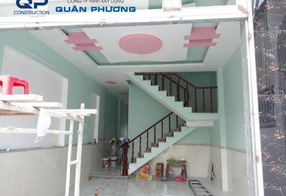 Công trình Sửa chữa nhà của chị Lan đường Xuân Hồng, Q.Tân Bình