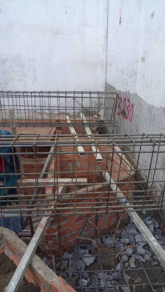 xây nhà phần thô