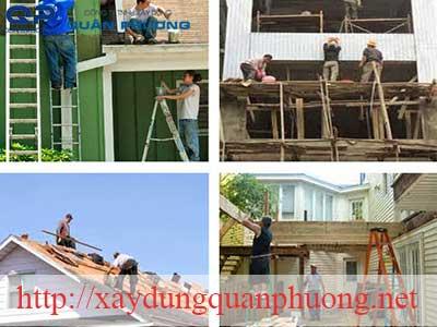Dịch vụ sửa chữa nhà chuyên nghiệp tại Quận Tân Phú